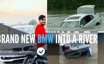 NEW BMW Into a River